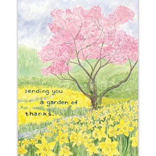 Yardia Thank  You Card - Garden of Thanks