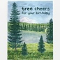 Yardia Birthday Card - Tree Cheers