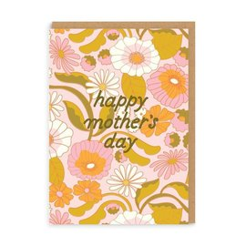 Ohh Deer Mother's Day - Retro Floral
