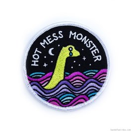 Band of Weirdos Hot Mess Monster Patch
