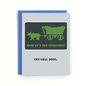 Public School Paper Co. Get Well Card - Not Dysentery
