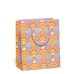 Red Cap Cards Sun & Rainbows Gift Bag