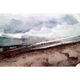 Jennifer Dean Art Misty Cannon Beach Print