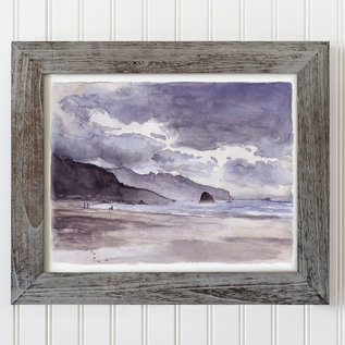 Jennifer Dean Art Cannon Beach Revisited Framed Print