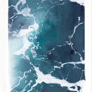 Jennifer Dean Art Ferry Water Pt. 1 Print