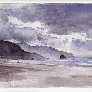 Jennifer Dean Art Cannon Beach Revisited Print