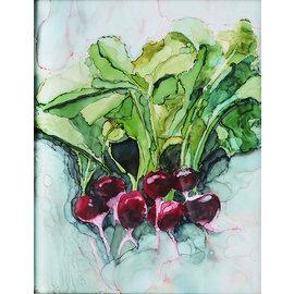 Jennifer Dean Art Radishes Print