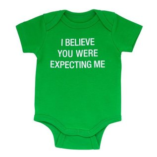 About Face Expecting Me Onesie