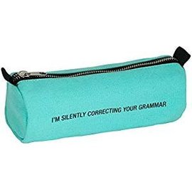 About Face Your Grammar Pencil Case