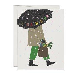 Red Cap Cards Father's Day - Grandpa's Umbrella