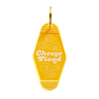 Boss Dotty Paper Co. Cheese Fiend Key Tag