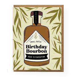Boss Dotty Paper Co. Birthday Card - Bourbon