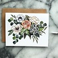 The Mint Gardener Greeting Card - Flower Bouquet