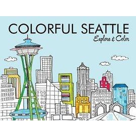 Colorful Cities Colorful Seattle Coloring Book