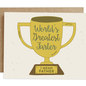 Rhubarb Paper Co. Father's Day Card - Greatest Farter