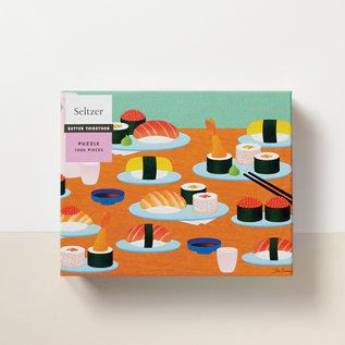 Seltzer Sushi Puzzle