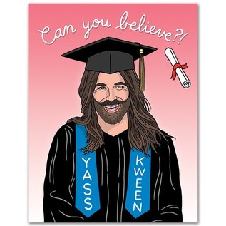 The Found Graduation Card - JVN Can You Believe It?