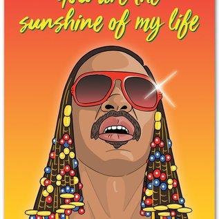 The Found Love Card - Stevie Wonder Sunshine