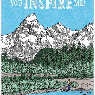 Waterknot Father's Day Card - You Inspire Me