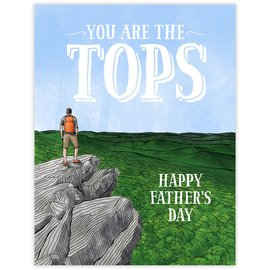 Waterknot Father's Day Card - Tops Dad