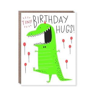 Hello Lucky / Egg Press Birthday Card - Tiny Hugs