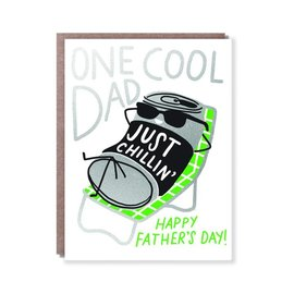 Hello Lucky / Egg Press Father's Day Card - Koozie Dad