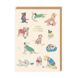 Ohh Deer Birthday Card - Top Dog