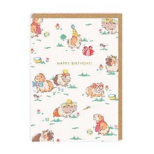 Ohh Deer Birthday Card - Guinea Pigs