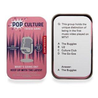 Kikkerland Design Inc Pop Culture Trivia Game