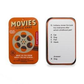 Kikkerland Design Inc Movies Trivia Game