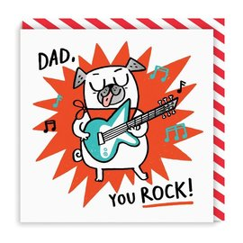 Ohh Deer Father's Day Card - Dad You Rock
