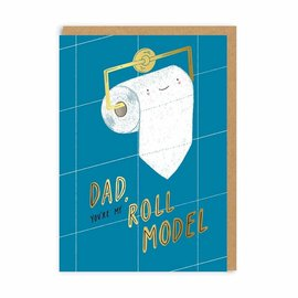 Ohh Deer Father's Day Card - Roll Model