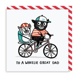 Ohh Deer Father's Day Card - Wheelie Great Dad