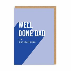 Ohh Deer Father's Day Card - Well Done Dad