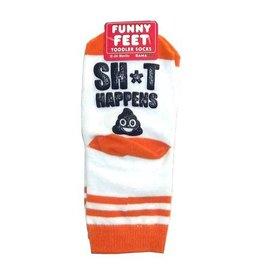 Gama-Go Sh*t Happens Baby Socks