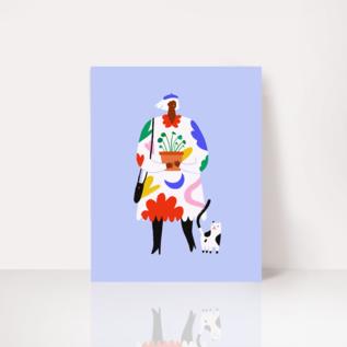 Angelope Design Pilea Art Print