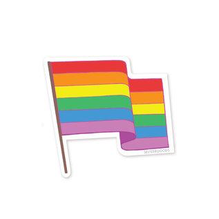 Seltzer Rainbow Flag Sticker
