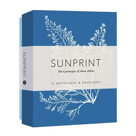 Chronicle Books Sunprint Notecards