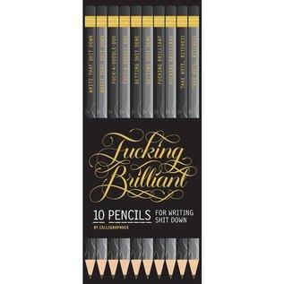 Chronicle Books Fucking Brilliant Pencils