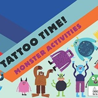 Chronicle Books Tattoo Time! Monster Activities