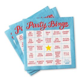 Emily McDowell and Friends Party Bingo Beverage Napkins