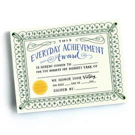 Emily McDowell and Friends Achievement Certificates