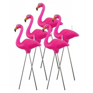 NuOp Design Pink Flamingo Candles