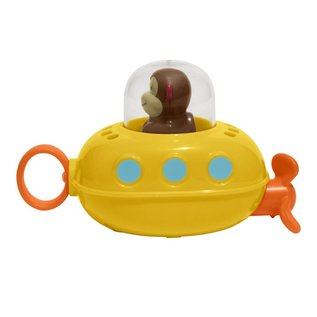Skip*Hop Zoo Pull & Go Monkey Submarine