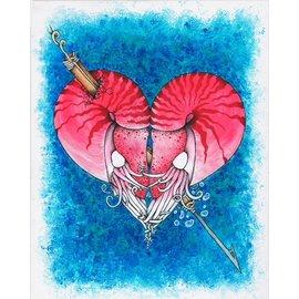 Kristian Winnie Print - The Lovers