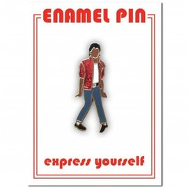 The Found Michael Jackson Enamel Pin