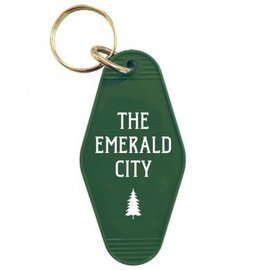 The Found Emerald City Key Tag