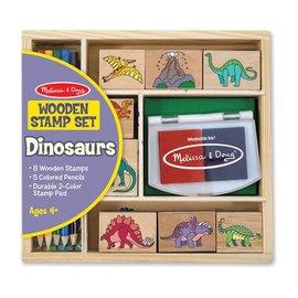 Melissa & Doug Stamp Set - Dinosaurs