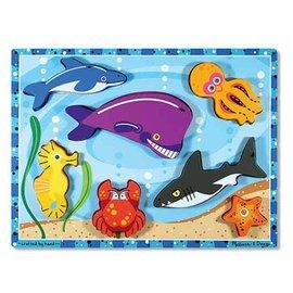 Melissa & Doug Puzzle - Chunky Sea Creatures
