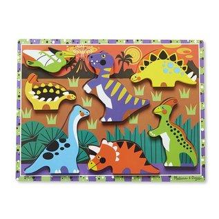 Melissa & Doug Puzzle - Chunky Dinosaurs